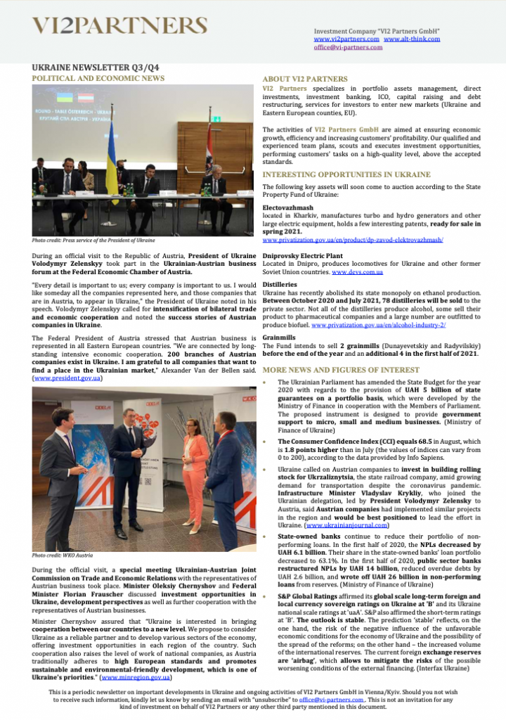 Ukraine Newsletter