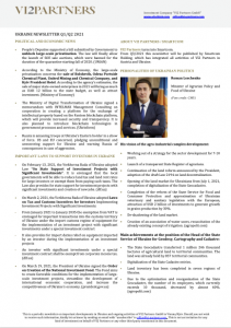 Ukraine Newsletter